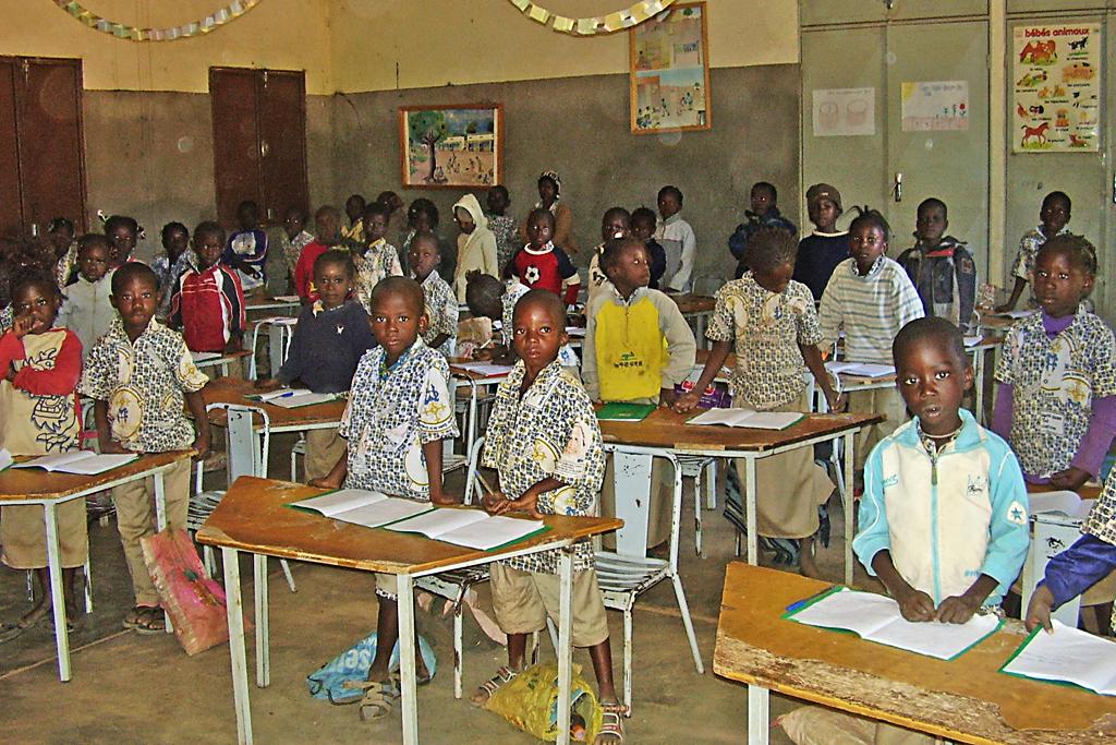 Escuela primaria en safan burkina faso delwende for Colegio jardin de africa